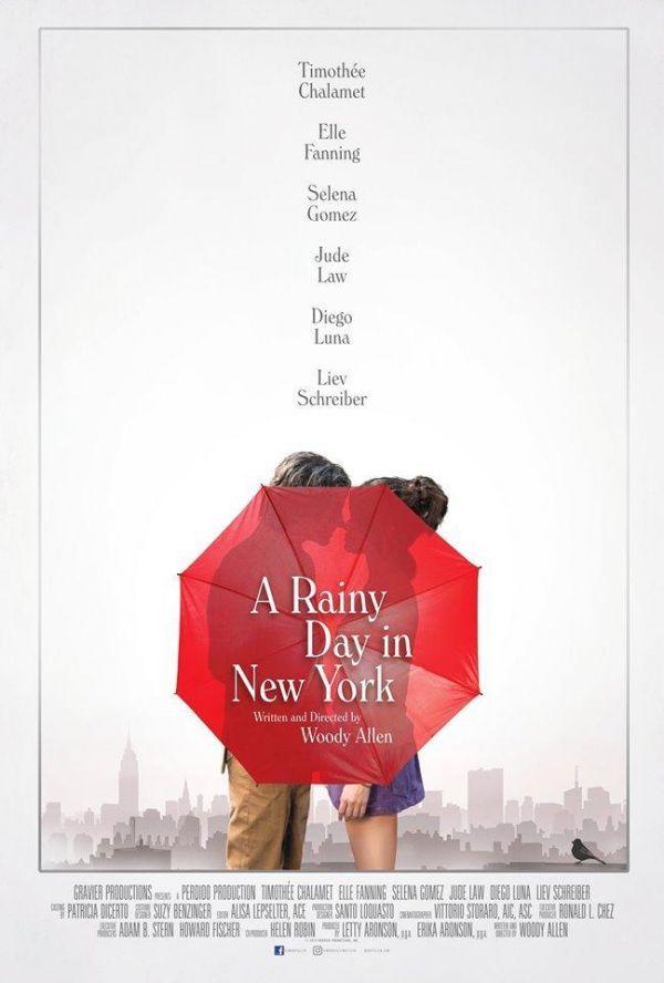 """Cinemateca Municipal """"Día de lluvia en Nueva York"""""""