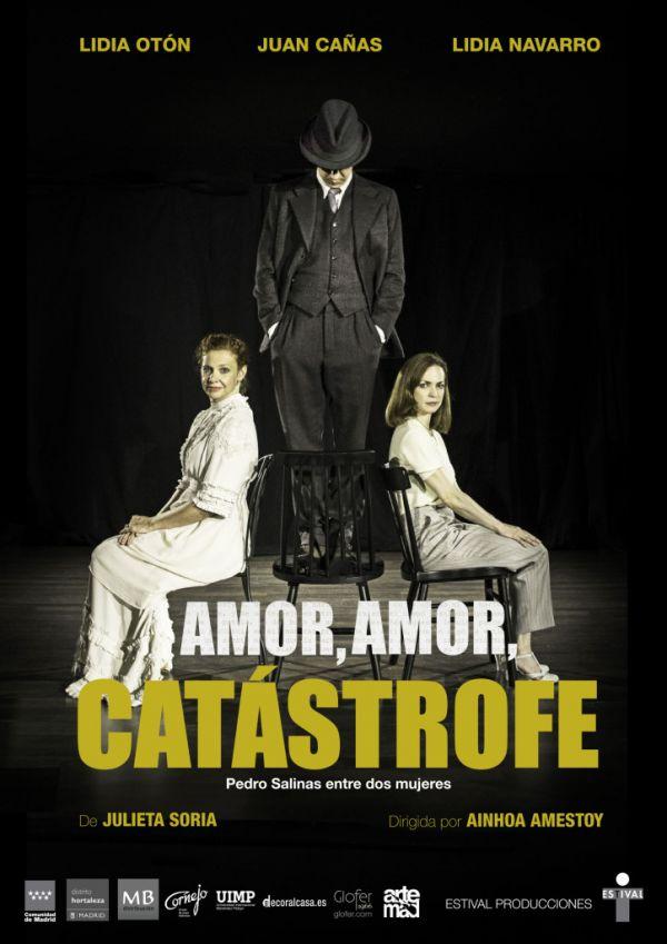 """Teatro """"Amor, amor, catástrofe"""". Red de Teatros de la Comunidad de Madrid"""