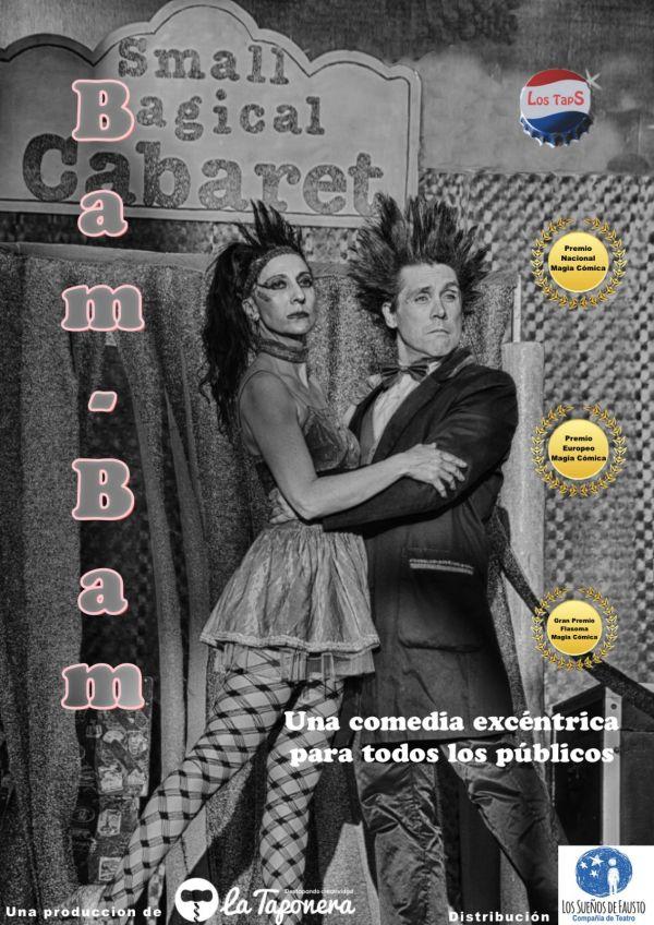 BAM BAM. LOS TAPS (Espectáculo Infantil de Magia) - Domingo 14 de febrero;18:00h. Teatro Real Carlos III