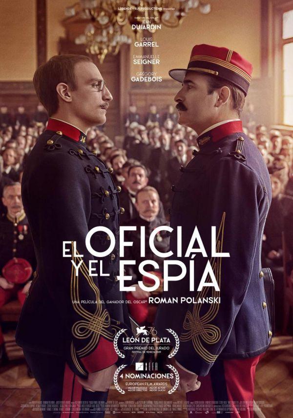 """Cinemateca Municipal. """"El oficial y el espía"""" Jueves 18 de febrero; 18:30h. Teatro Real Carlos III"""